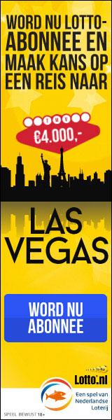 Maak kans op een reis naar Las Vegas + 3 maanden 50% korting