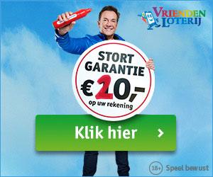 1e Maand gratis + dubbele prijzen + gegarandeerd € 20 gestort