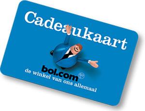 Bol.com cadeaukaart t.w.v. €15,-
