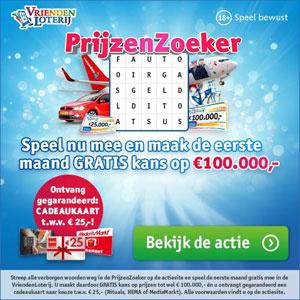 VriendenLoterij Puzzel: Speel mee en maak gratis kans op € 100.000,-