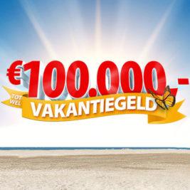 postcode loterij 100.000 euro vakantiegeld