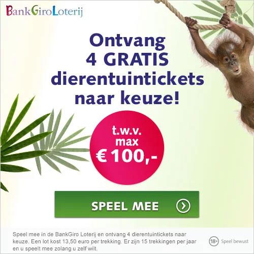 bankgiro loterij dierentuin