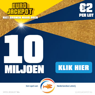 Euro Jackpot Uitslag