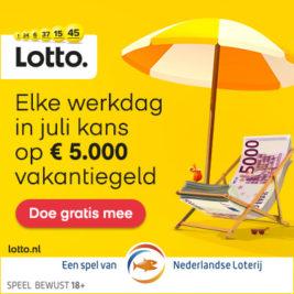 lotto vakantiegeld