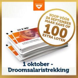 1 oktober droomsalaris