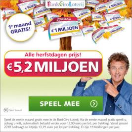 BankGiro Loterij Herfst