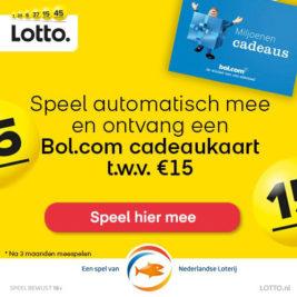 lotto bol.com cadeaukaart
