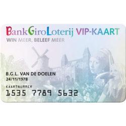 BankGiro Loterij VIP-KAART