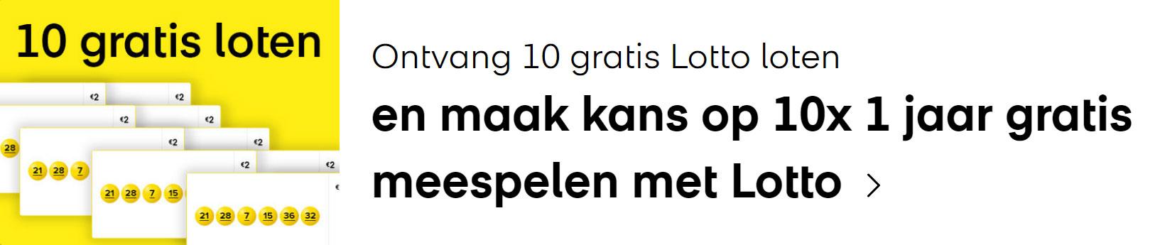 lotto 10 gratis loten