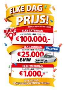 postcode loterij prijzen