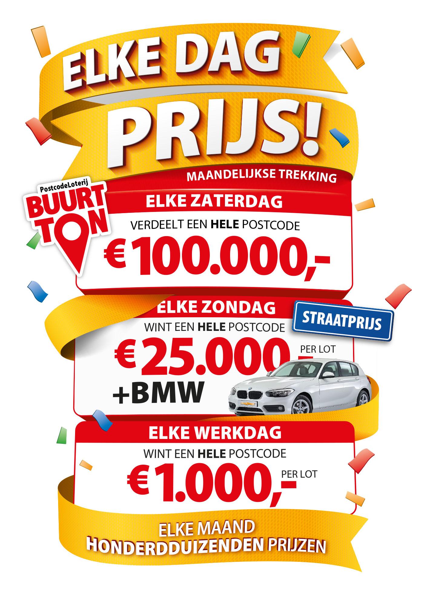 Postcode Loterij Miljoenenjacht In September 5x Kans Op