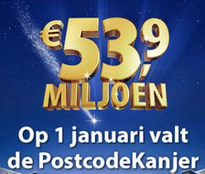 postcodekanjer 1 januari