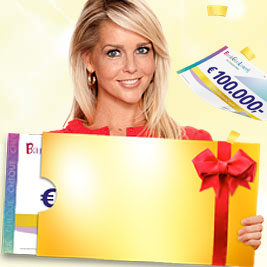 BankGiro Loterij checque € 100.000