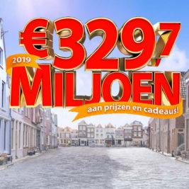 postcode loterij 329 miljoen