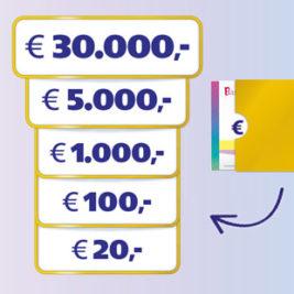 bankgiroloterij cheque