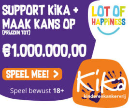 lot of happiness 1 miljoen