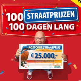 Postcode Loterij 100 dagen straatprijs