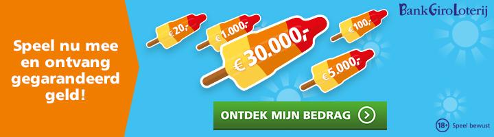 BankGiro Loterij gegarandeerd geld