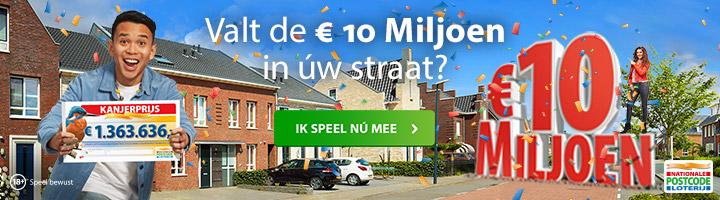 Postcode Loterij Kanjerprijs Mei 2021